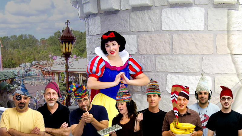 Jaclyn and the 8 dwarfs