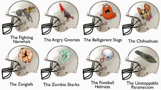 Geek Fantasy Football Names