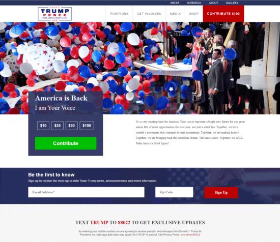 trump-homepage
