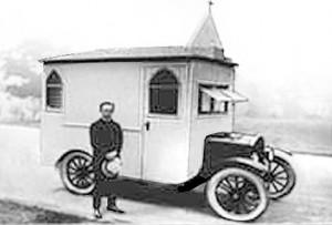 a mobile chapel