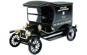 A police wagon
