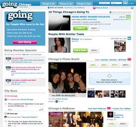 Going.com - an event listing site
