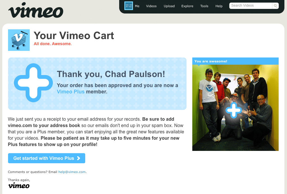 I Love Vimeo
