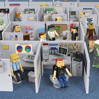 Cubicle Nightmare