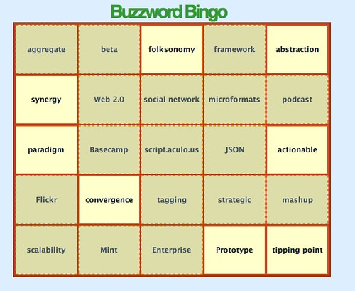 Buzzwords and the Paradox of Credibility