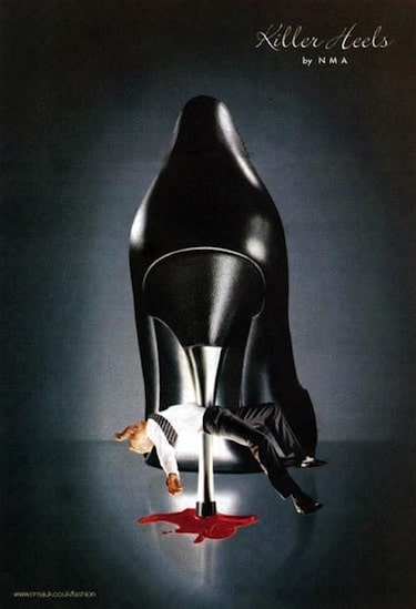 killer heels advertisement