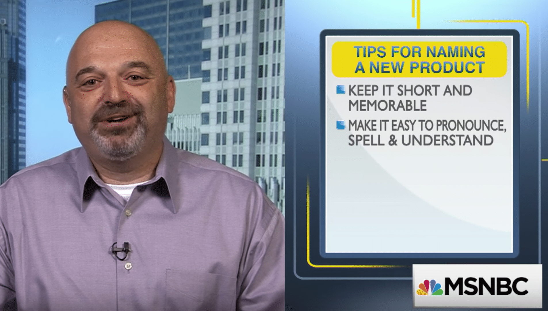 5 Tips for Naming Your New Product on MSNBC Your Business
