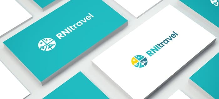 2018 logo design trends your guide to navigate hot trends and logo design business card mock up by saska puffcrowdspring reheart Choice Image