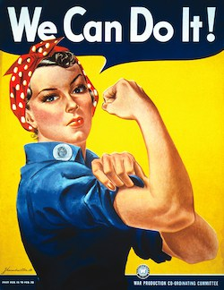 Rose the Riveter poster
