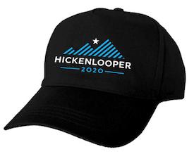 Hickenlooper Logo Cap