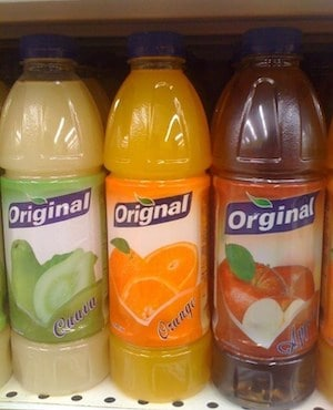 brand named misspelled on packaging